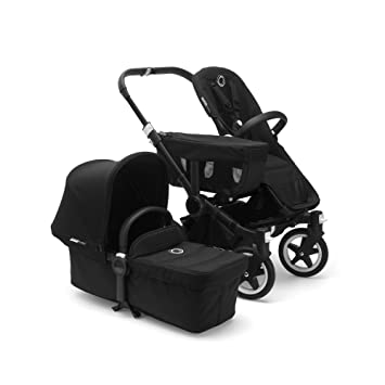 Bugaboo Donkey2 Complete Duo Extension Set Black