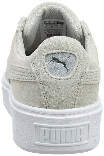06103bb7cbfd Puma Women's Suede Platform Perf Trainers: Amazon.co.uk: Shoes & Bags
