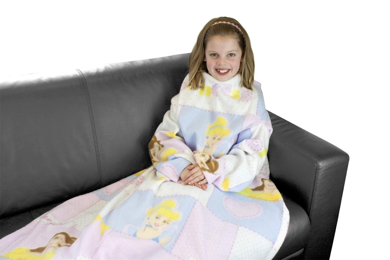 Adam Home Snnugles Kids Cosy Warm Fleece Sleeved Blankets With Sleeves For Children - Ben 10
