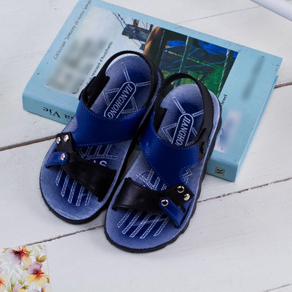1928ab8cc Scothen Los niños unisex Closed sandalias de cuero suave sandalias de trekking  zapatos que caminan al aire libre los zapatosverano de los zapatos que ...