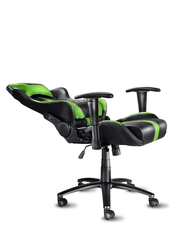 51 x 75 x 129 cm Diablo X-Player Gaming Chair Adjustable armrests Lumbar Pillow tilt Mechanism Artificial Leather loadable up to 150 kg Color Selection Black//red