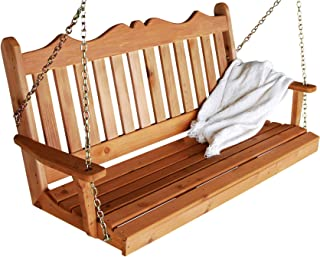 product image for Cedar 5' Royal English Swing, Redwood Stain