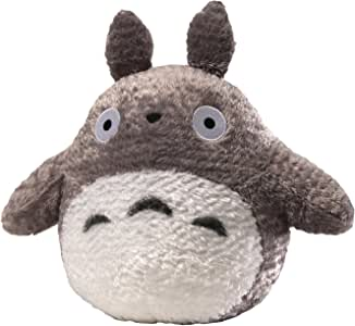 "GUND Fluffy Totoro Stuffed Animal Plush in Gray, 13"""