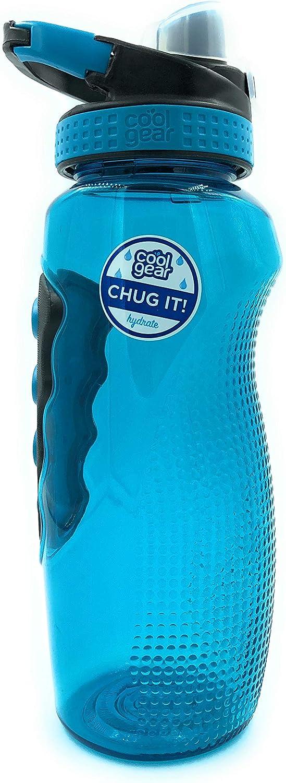 Chug Top Lid Water Bottle Blue