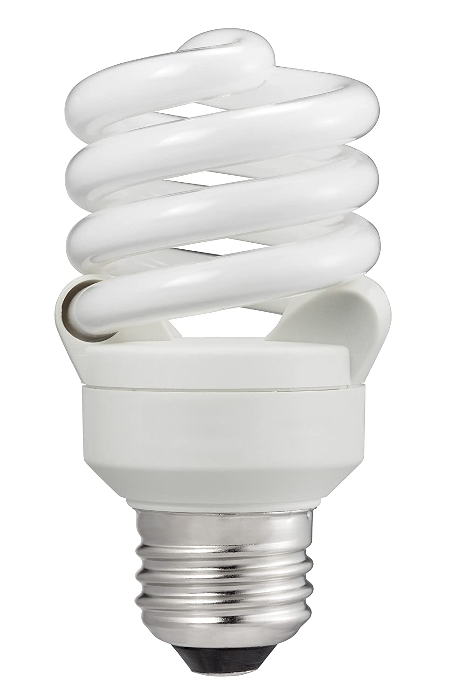 Philips 414037 60 Watt Equivalent Compact Fluorescent Twister Cool White 4100K CFL Light Bulb, 6-pack