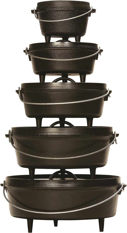 Lodge Cast Iron Camp Dutch Ovens