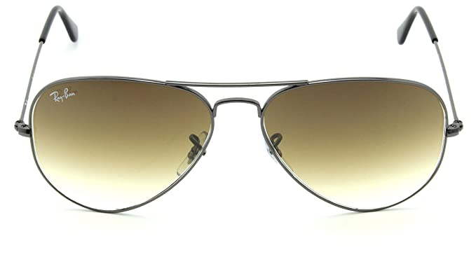 d68563a02aa Image Unavailable. Image not available for. Color  Ray-Ban RB3025 Aviator  Gradient Unisex Sunglasses ...