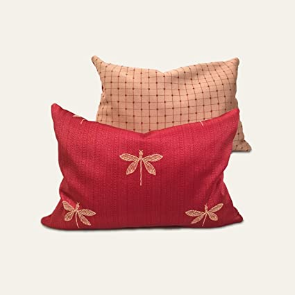 Amazon Balsam Fir Pillow Fragrant Long Lasting Christmas And Classy Long Round Decorative Pillows