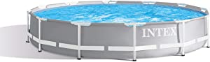 Intex 12ft X 30in Prism Frame Pool Set with Filter Pump