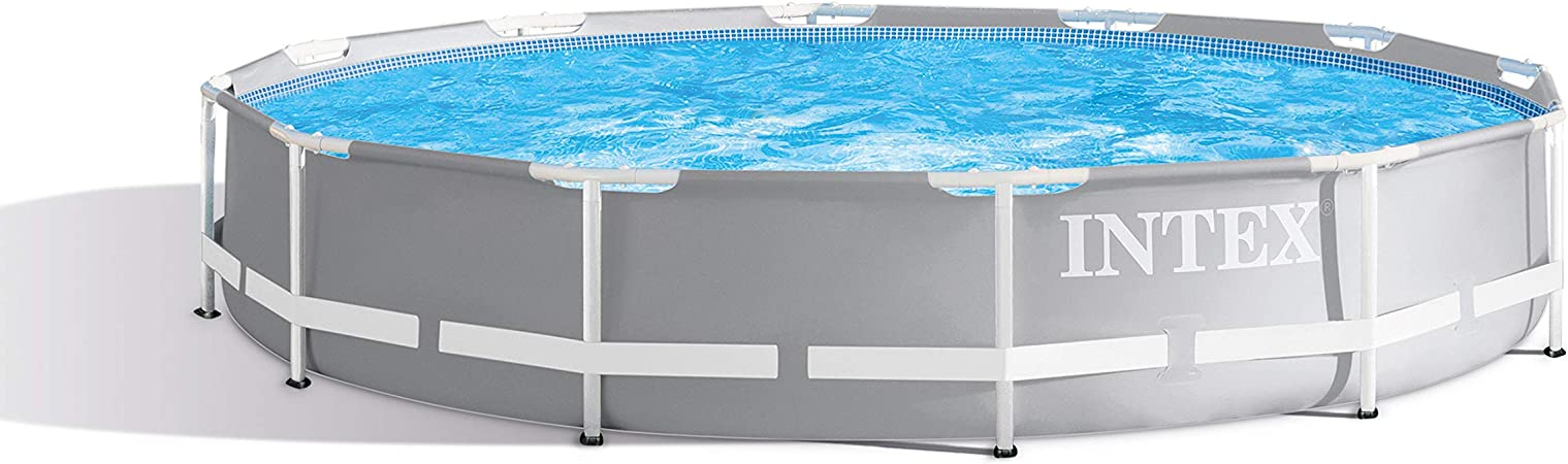 Intex Round Prism Frame Pool Set 12ft X 30 26711eh Model Garden Outdoor