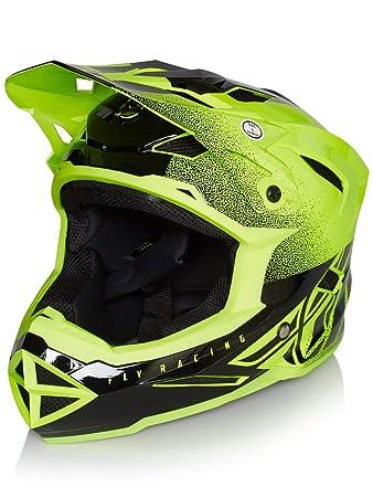 Fly Racing Hi-Viz-Yellow 2019 Default MTB Full Face Helmet (M,