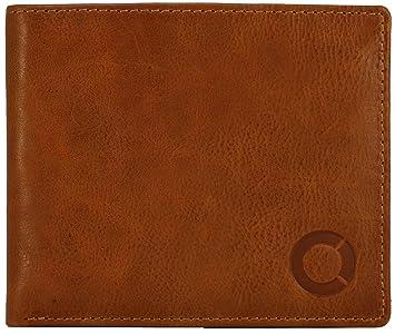 c6bb91d77e197 FEYNST Leder Herren Geldbörse Portemonnaie Brieftasche Geldbeutel  Kreditkartenetui Herrengeldbörse Ledergeldbörse
