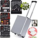 799-Pieces Teeker Sturdy Aluminum Trolley Case Tool Set
