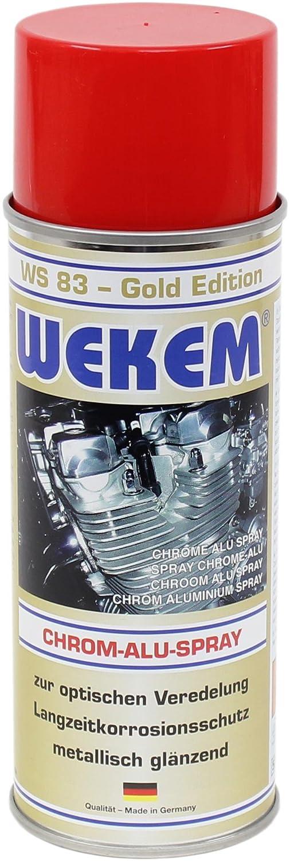 1x 400ml Wekem Chromspray Alu Spray WS83 Fahrzeugteile Hoffmann