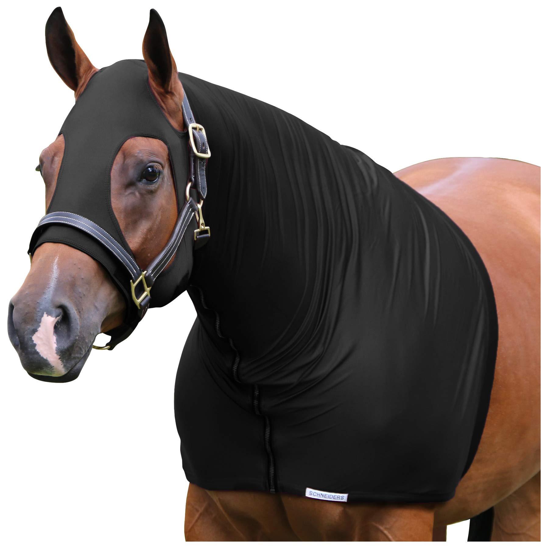 UltraFlex Heavyweight Three Season Zipper Slicker Hood (Black, X-Large) by UltraFlex (Image #1)