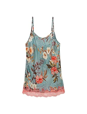f2cc53ebe54f Intimissimi Womens Japanese Summer Satin Top: Amazon.co.uk: Clothing