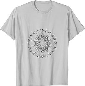 DIY Coloring Mandala T-shirt - Use Fabric Markers to Create