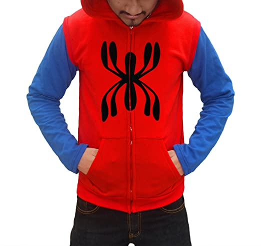 Spider Man Homecoming 2017 Hoodie - Spider Man Full Sleeves Hoodie