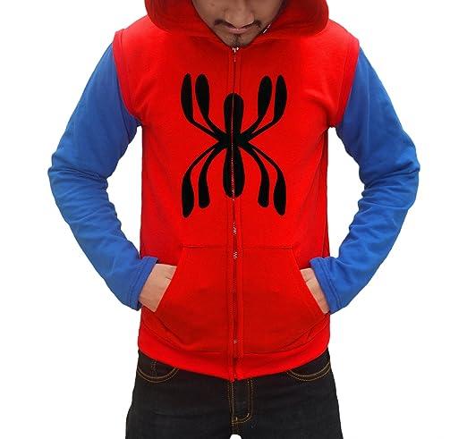 Spider Man Homecoming 2017 Hoodie - Spider Man Full Sleeves Hoodie