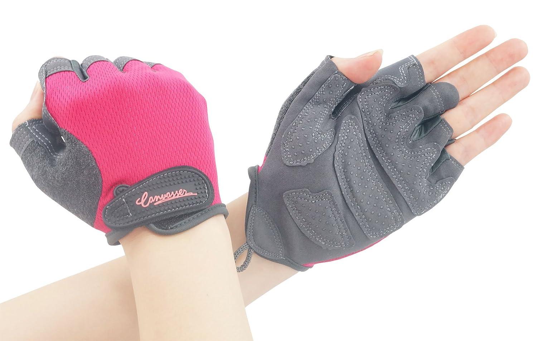 Gym Workout Gloves, Half Finger Non-Ship Shockproof Sport Gloves Canvassers