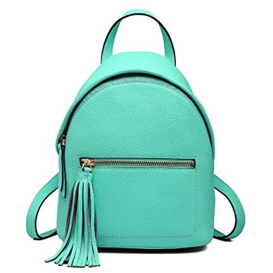 ff8e5ef69add Amazon.com  Mini Leather Backpack for Women