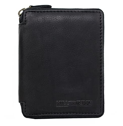 283d473f64c5 Genuine Leather Wallet for Men Women Handmade Bifold Wallets ID Card Holder  with coin pocket Zipper
