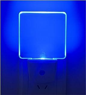 2 Pack 0.5W Plug in LED Night Light with Dusk to Dawn Sensor Blue  sc 1 st  Amazon.com & Plug in Light Sensor LED Blue Night Light for Bathroom Kitchen ...
