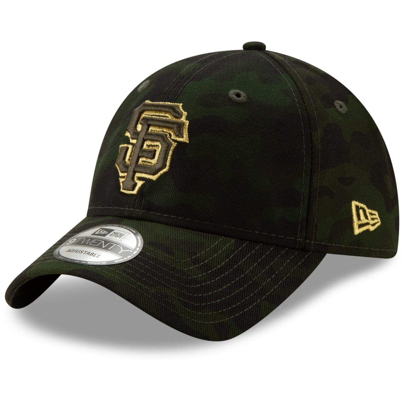2c7ad7ea New Era San Francisco Giants 2019 MLB Armed Forces Day 9TWENTY Adjustable  Hat - Camo