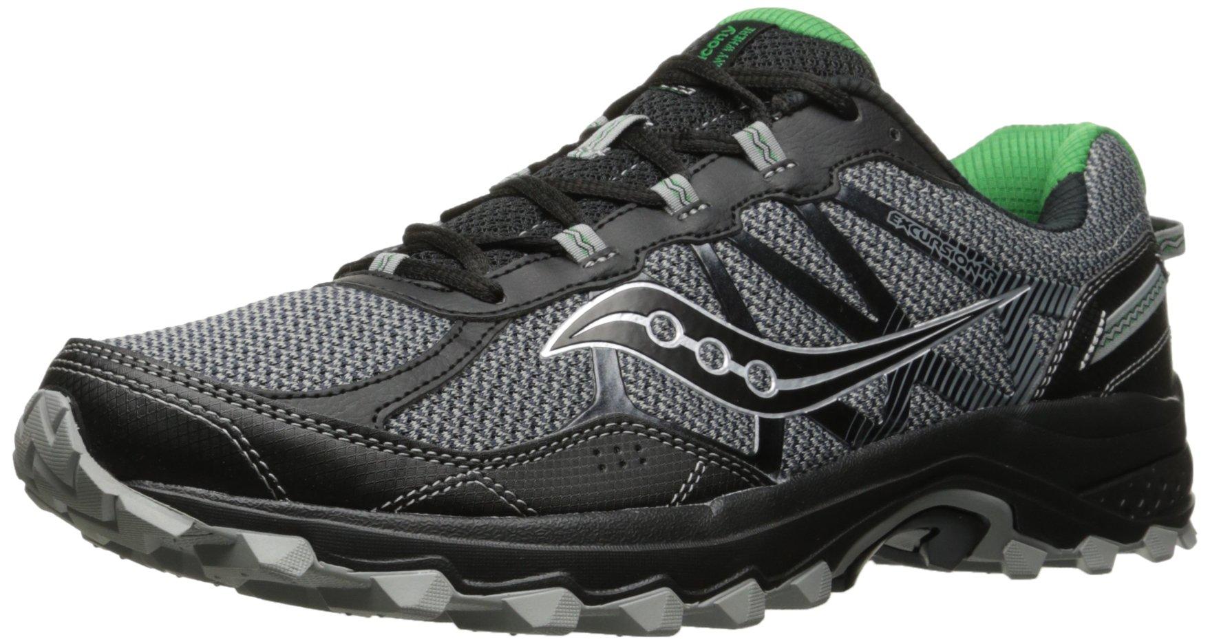 Saucony Men's Excursion TR11 Running Shoe, Grey Green, 7 Medium US