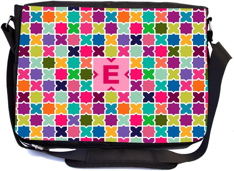 bf1a7623e550 durable service Rikki Knight Letter E Monogram Vibrant Hot Pink Edgy ...