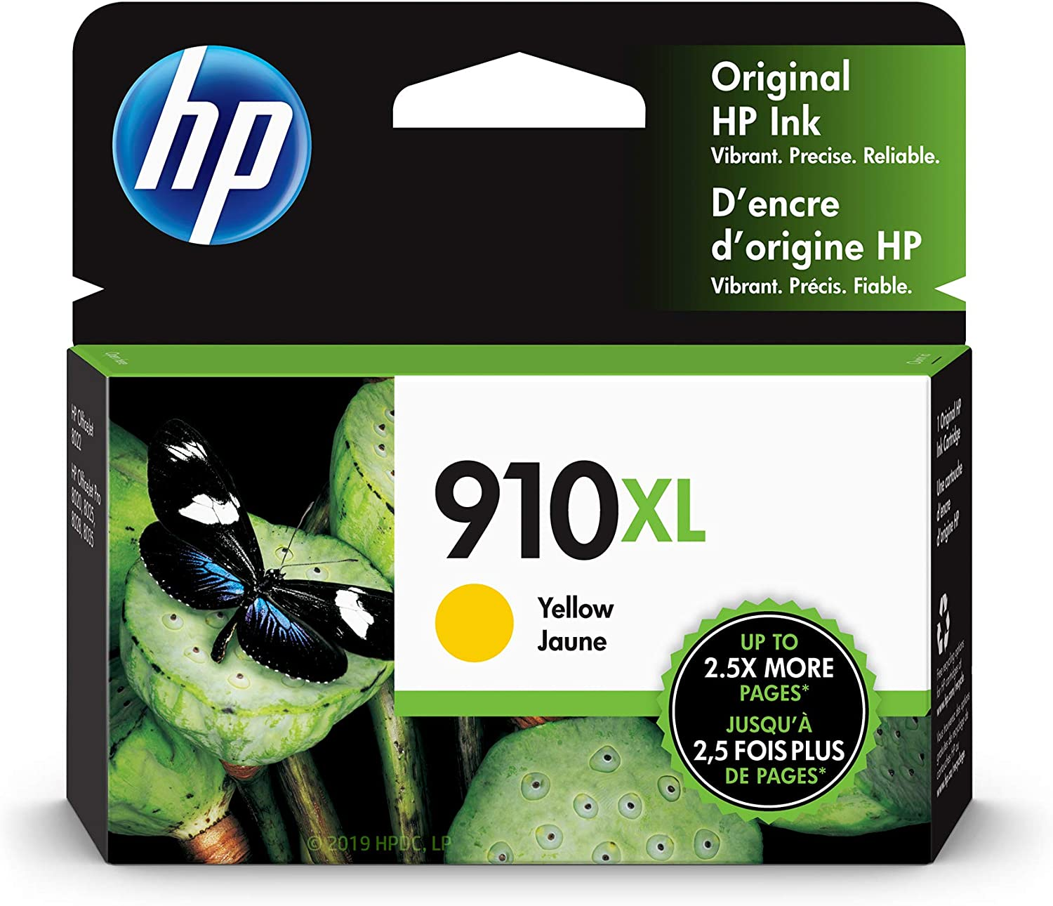 HP 910XL | Ink Cartridge | Yellow | 3YL64AN