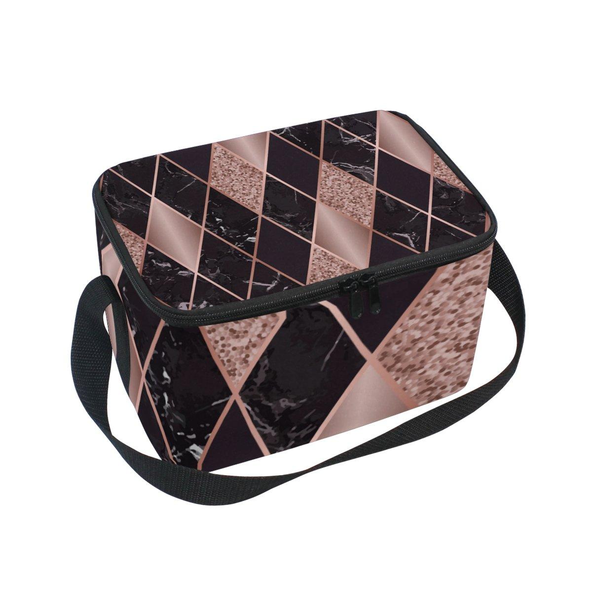 0207fb79c496 Amazon.com: Vantaso Lunch Cooler Bag Insulated Marble And Quartz ...