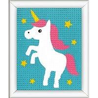 Vervaco–Kit de Punto de Cruz Unicornio, Stick