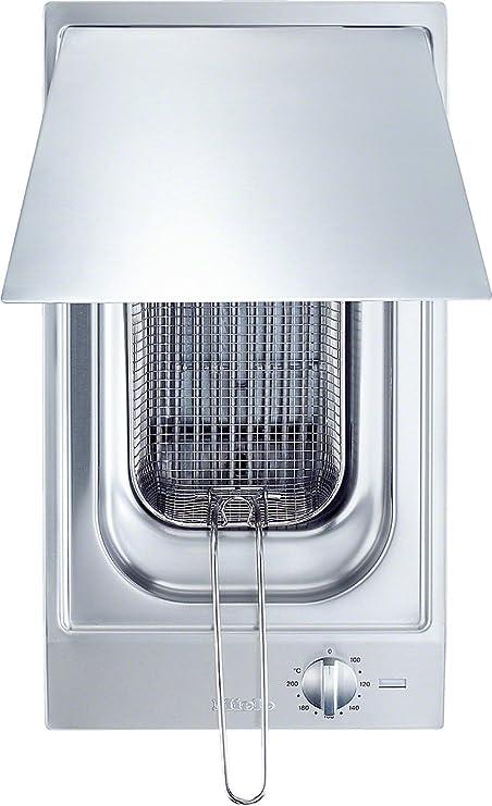 Miele CS 1411 F Solo Integrado 4L 2400W Acero inoxidable - Freidora (4 L, 80 °C, 200 °C, Solo, Acero inoxidable, Giratorio): Amazon.es: Hogar