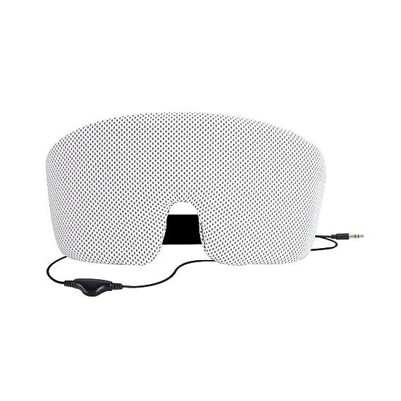 Amazon.com: AGPTEK Ultra Soft Wired Sleep Headphones Comfortable Eye ...
