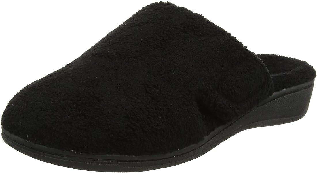 89b23d6b9f6 Vionic Women s Indulge Gemma Slipper - Ladies Adjustable Slippers ...