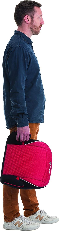 Sillita de auto para ni/ños 6-12 a/ños Alzador color Pixel Red Safety 1st Manga Fix Elevador Silla de Coche Isofix