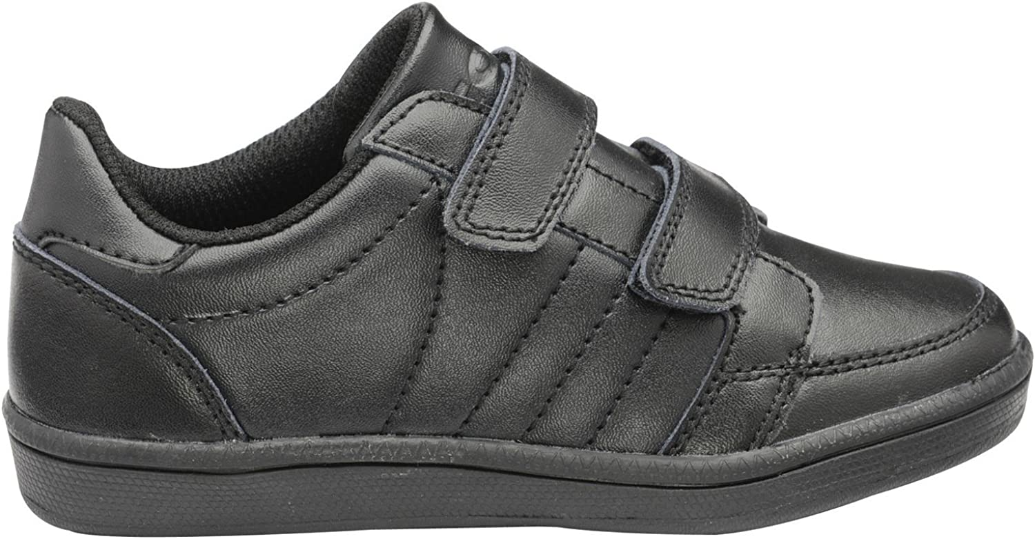 Gola Childrens Boys Eddy 2 Bar School Trainers (9 UK Junior) (Black):  Amazon.co.uk: Shoes & Bags