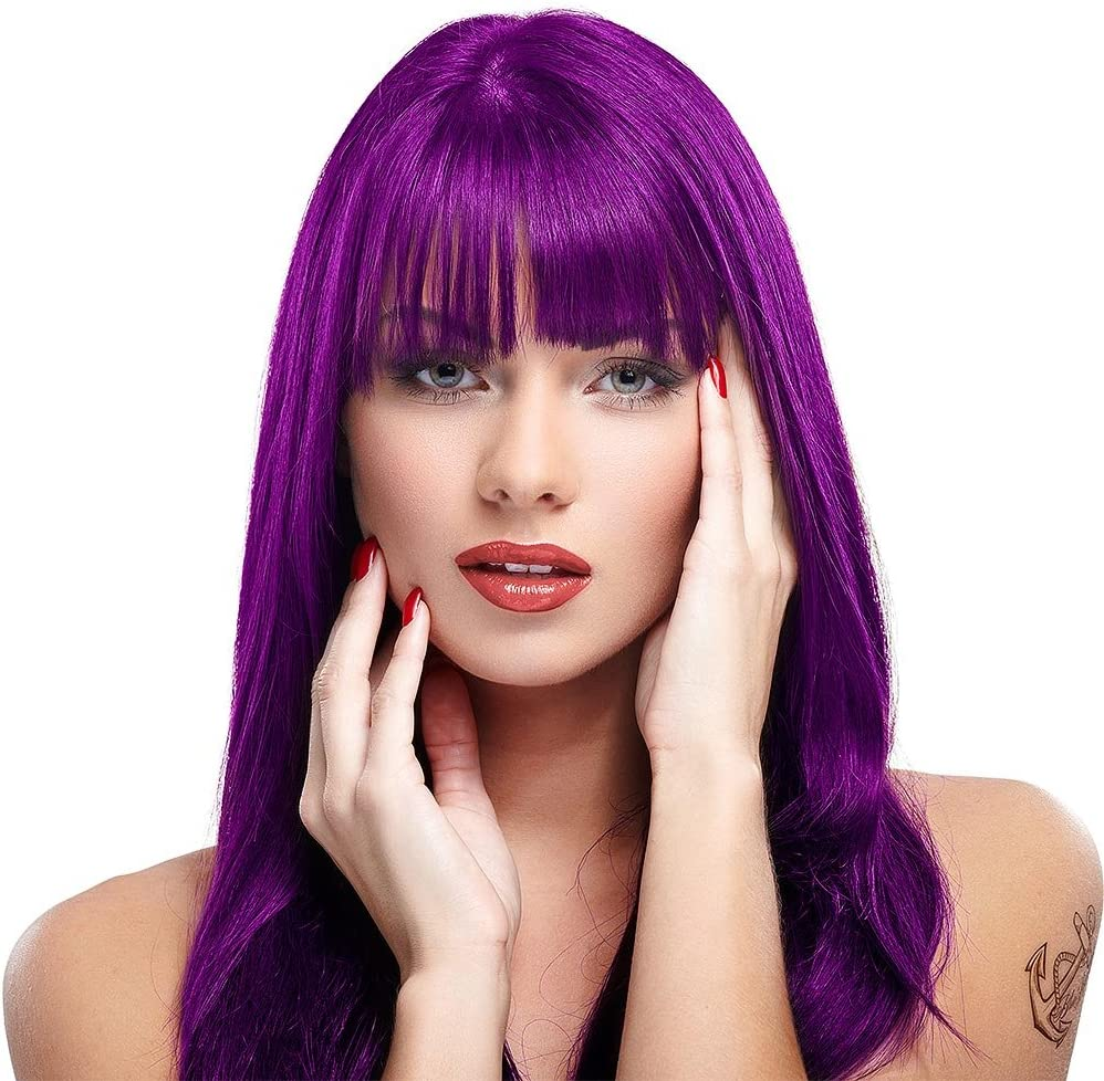 Manic Panic High Voltage Tinte Capilar Semi-Permanente Classic Formula 118ml - Morado Purple Haze