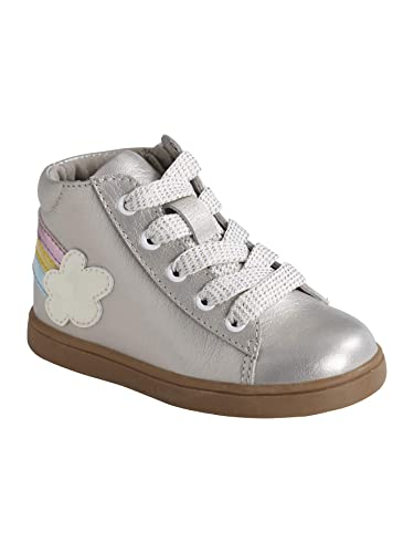 b3355c59552d2 Vertbaudet Baskets Mid bébé Fille en Cuir irisé  Amazon.fr ...