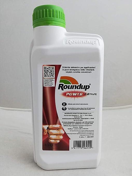 Herbicida total para maleza de 0, 5 l, glifosato, Syngenta: Amazon.es: Jardín