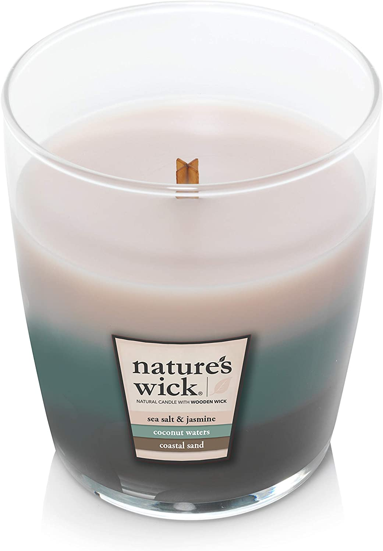 Horizon Glow Natures Wick Medium Jar Trio Candle