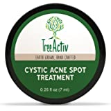 TreeActiv Cystic Acne Spot Treatment, Best Extra Strength Fast Acting Formula for Clearing Severe Acne from Face and…