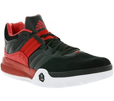 best sneakers afafd 56a40 adidas Performance Derrick Rose Englewood IV Mens Basketball Shoes Black  S84946, Size47 1