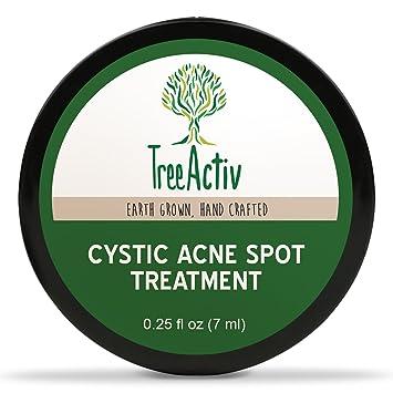 Amazon.com : TreeActiv Cystic Acne Spot Treatment, Best Extra ...