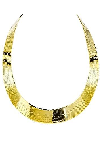 BH 5 Star Jewelry 10K Gold Herringbone Chain 14mm 20
