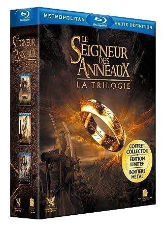 nouvelles photos choisir le dernier nouveaux produits chauds Le Seigneur des Anneaux : La trilogie. Boitier métal Blu-ray ...