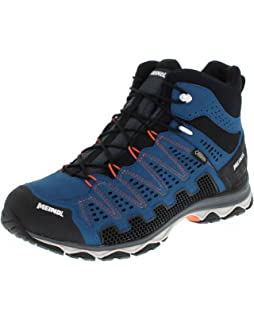 71f47640c61a1a Meindl Schuhe X-so 70 Mid GTX Surround Men - Anthrazit Blau  Amazon ...