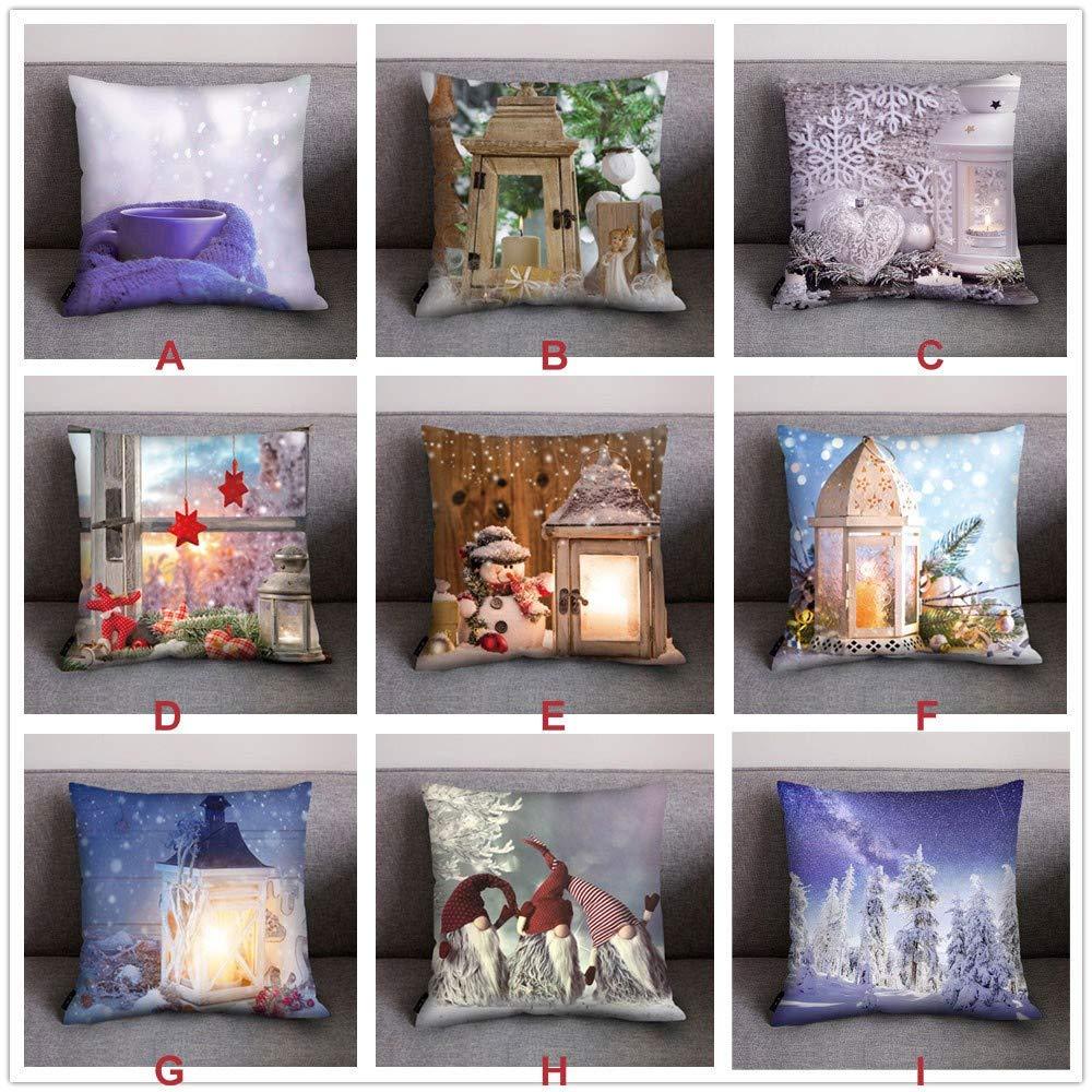 Amazon.com: Fundas de almohada de Navidad con diseño de ...