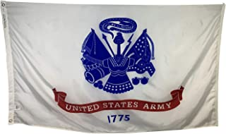 product image for 4x6' U.S. Army Flag - Durable All Weather Nylon & Reinforced Fly End Stitching - Made in The USA